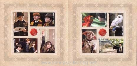 personajes del film harry potter