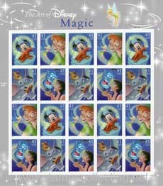 stamps disney magic